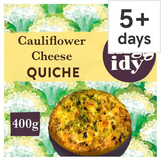 Higgidy Cauliflower Cheese & Broccoli Quiche 400G