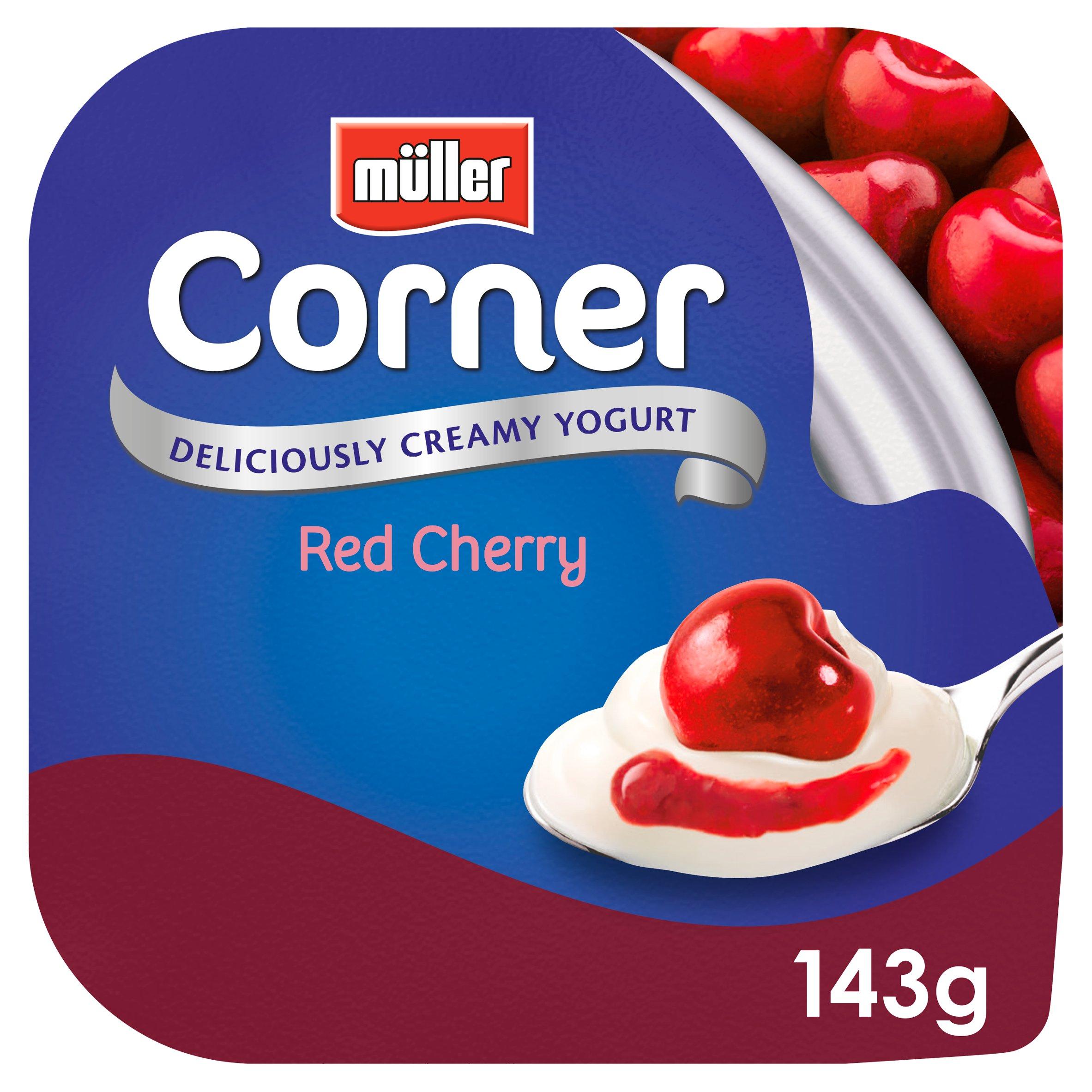 Muller Corner Fruit Cherry Yogurt 143G
