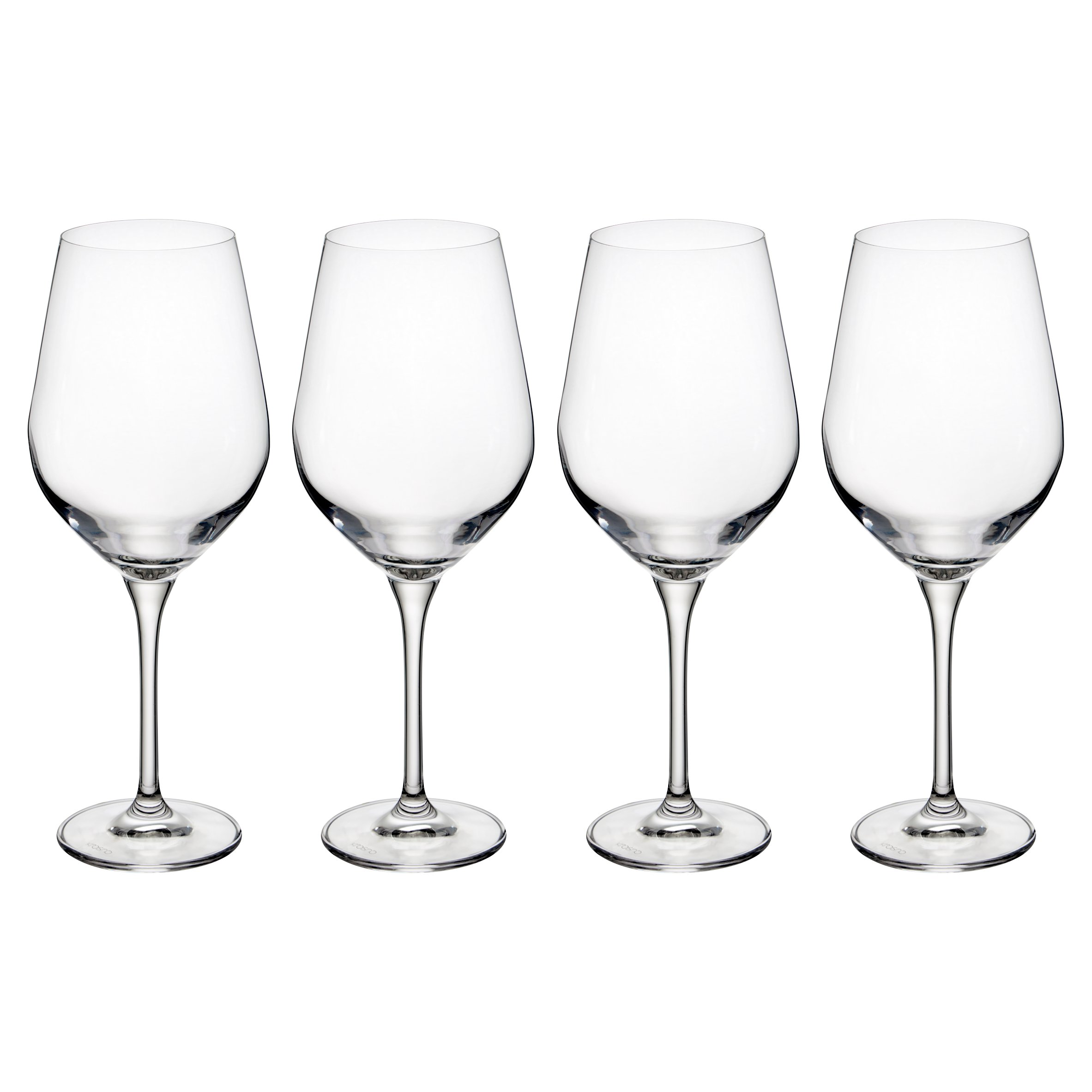 F & I New Red Wine Crystal Glass 4 Pack