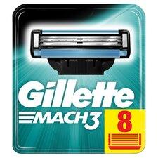 image 1 of Gillette Mach 3 Cartridges 8 Pack