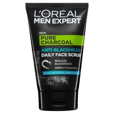 image 1 of L'oreal Men Expert Charcoal Face Scrub 100Ml