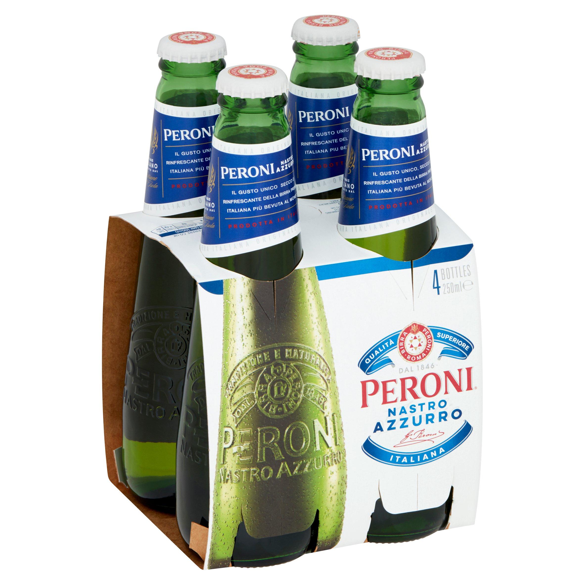Peroni Nastro Meal Deal 4X250ml