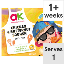 image 1 of Annabel Karmel Chicken & Butternut Squash with Rice Ready Meal 200G