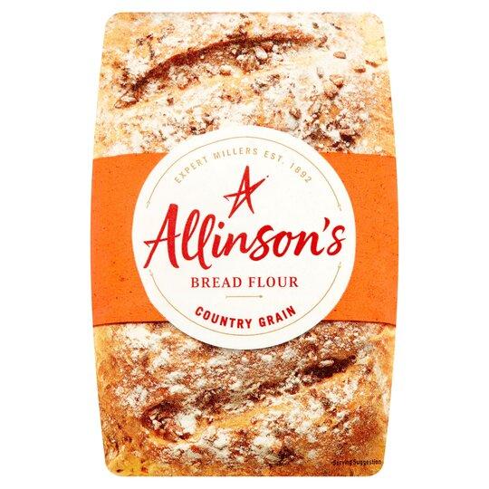 Allinson's Country Grain Bread Flour 1Kg
