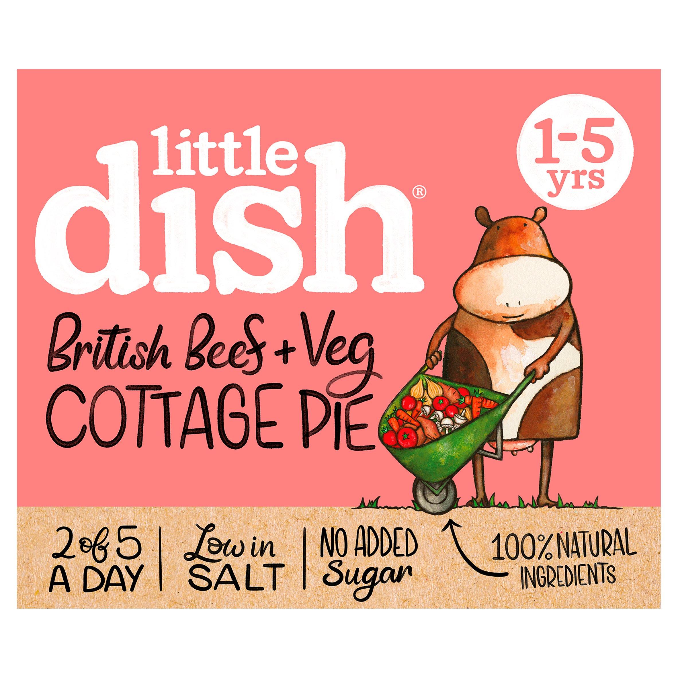 Little Dish 1Yr+ Cottage Pie 200G