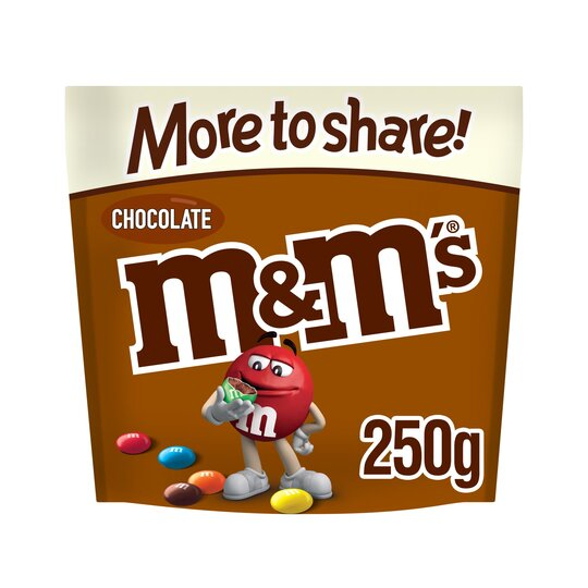 M&M's Chocolate More To Share Pouch 250G