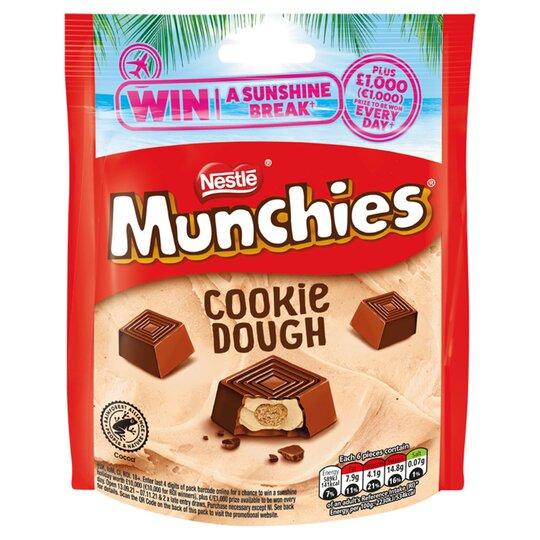 Munchies Cookie Dough Pouch Bag 101G
