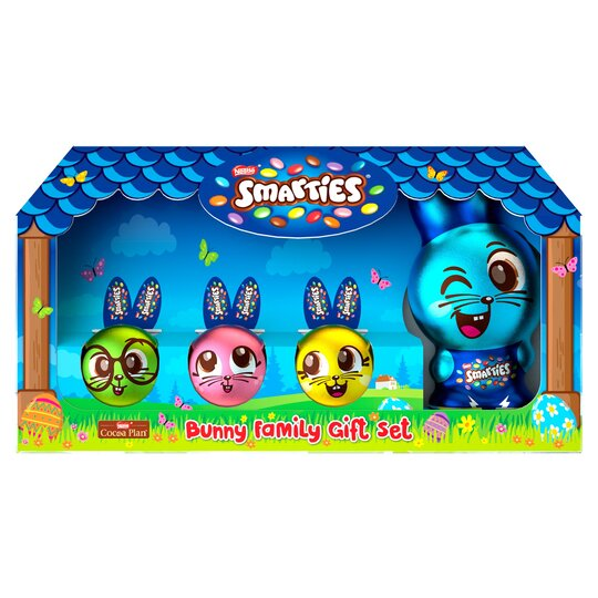 Smarties Bunny Milk Chocolate Easter Giftset 149.5G