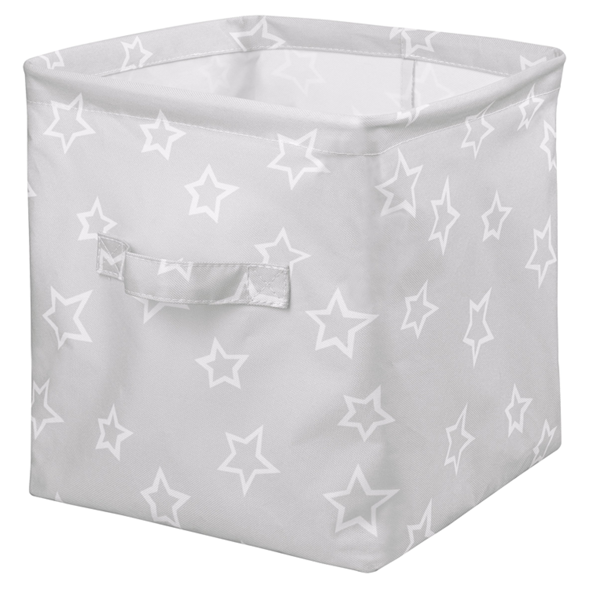 Fred & Flo Grey Star Small Storage Box