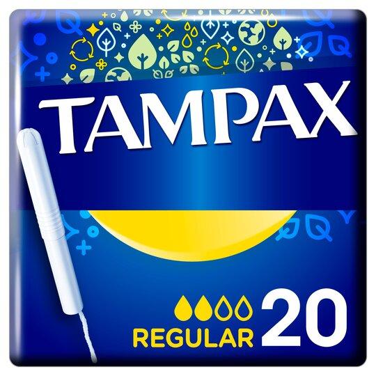image 1 of Tampax Blue Box Regular 20 Pack