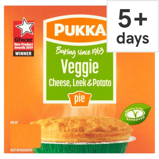 Pukka Veggie Leek & Potato Pie
