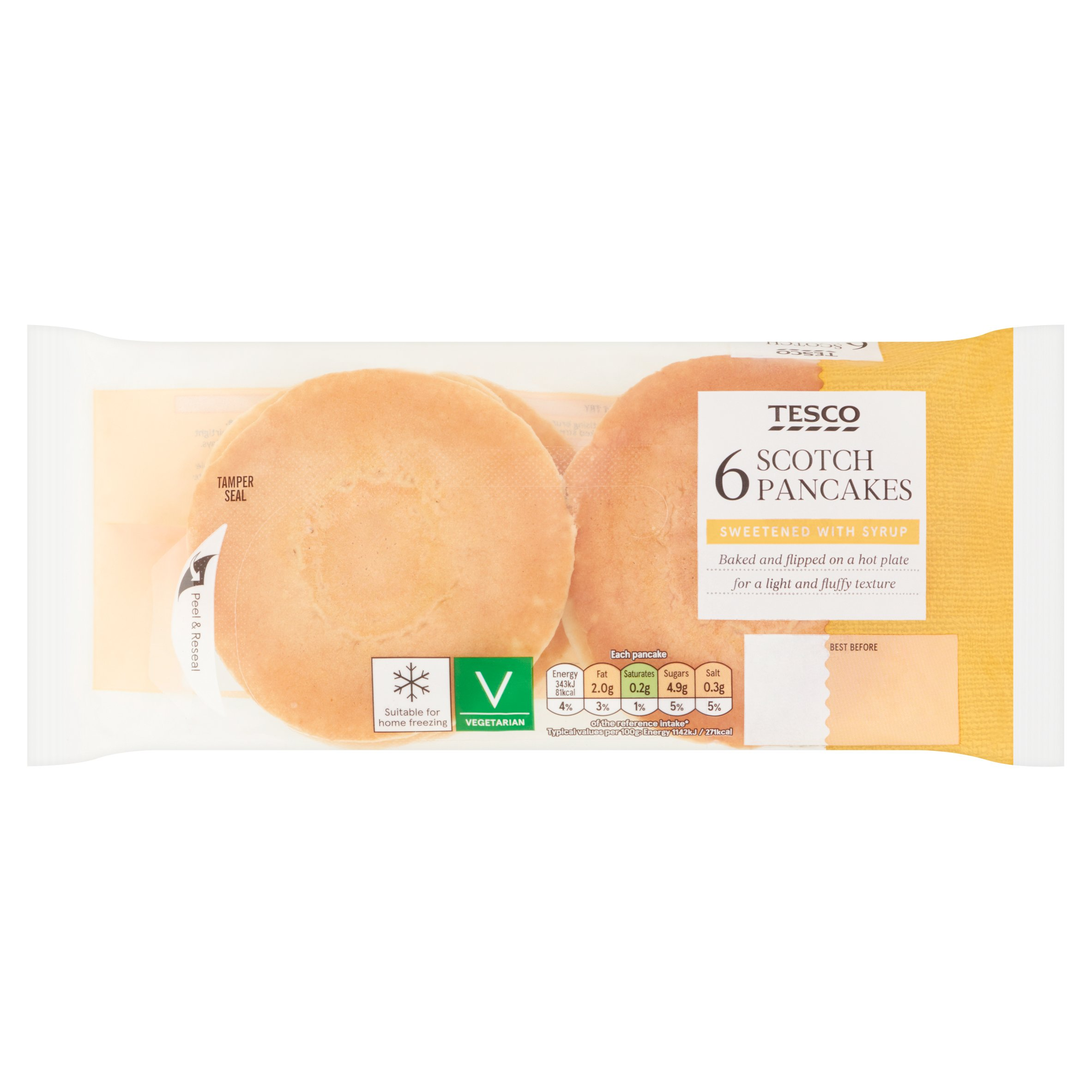 Tesco 6 Scotch Pancakes