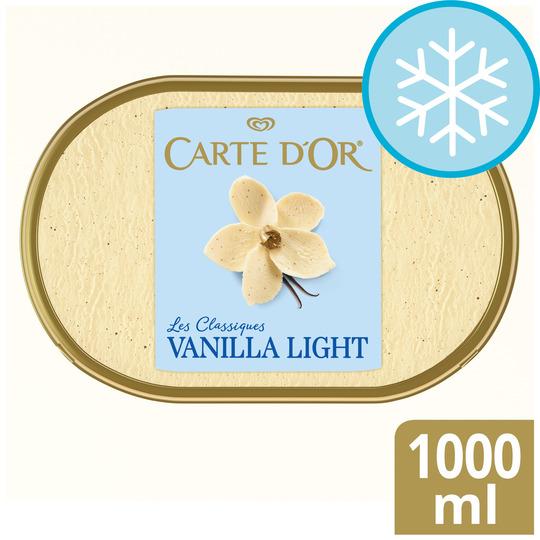 image 1 of Carte D'or Vanilla Light Ice Cream 1 L