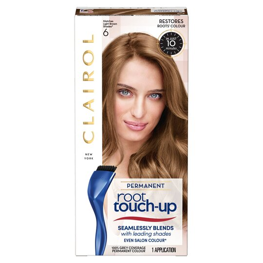 Nice'n Easy Root Touch Up Permanent Light Brown 6