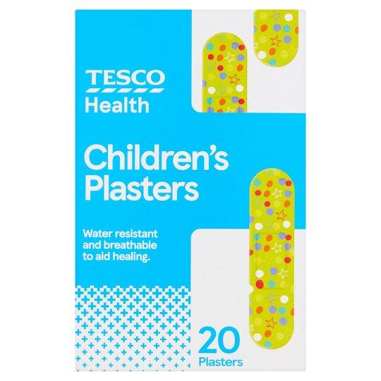 Tesco Health Childrens Plaster 20 Pack