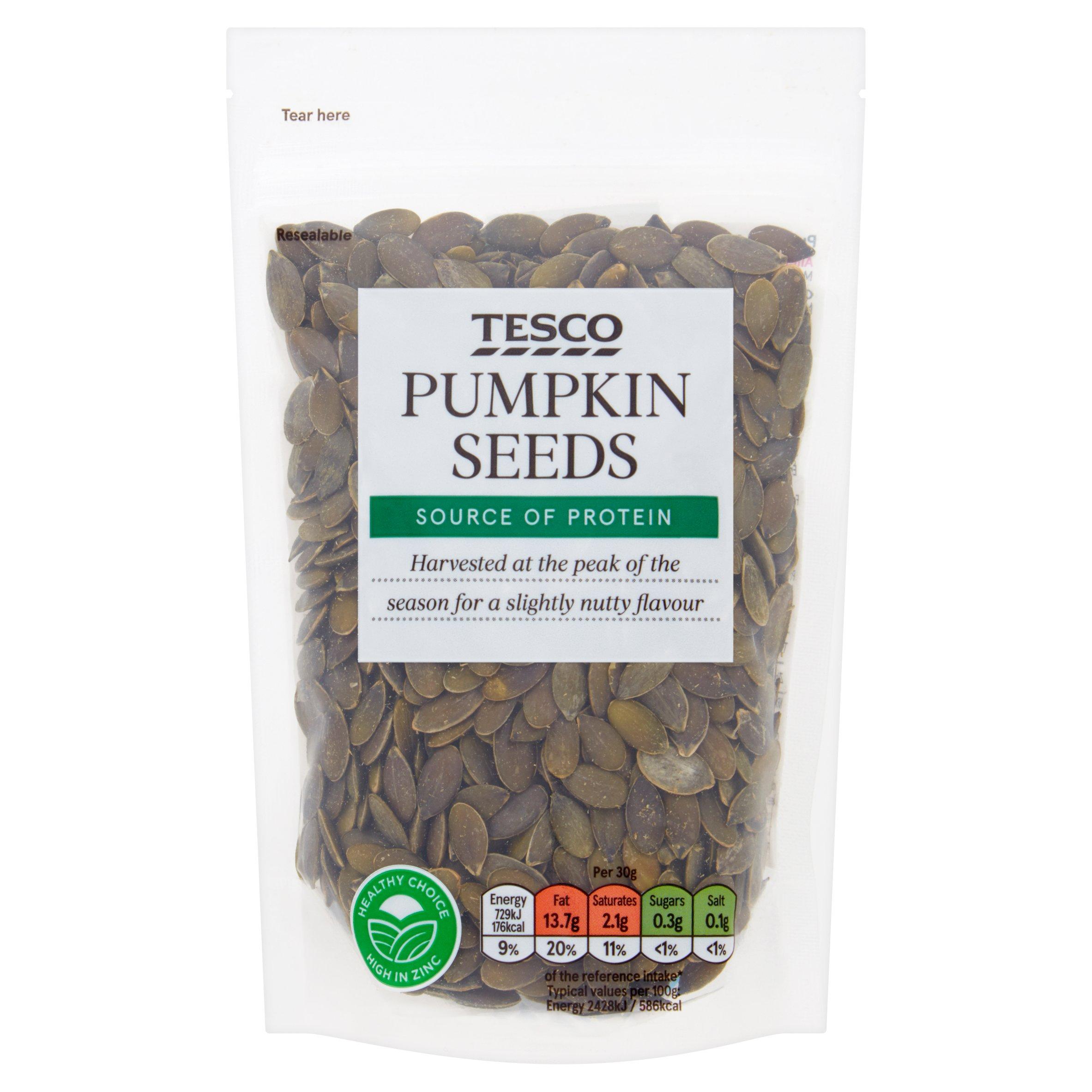 Tesco Pumpkin Seeds 150G