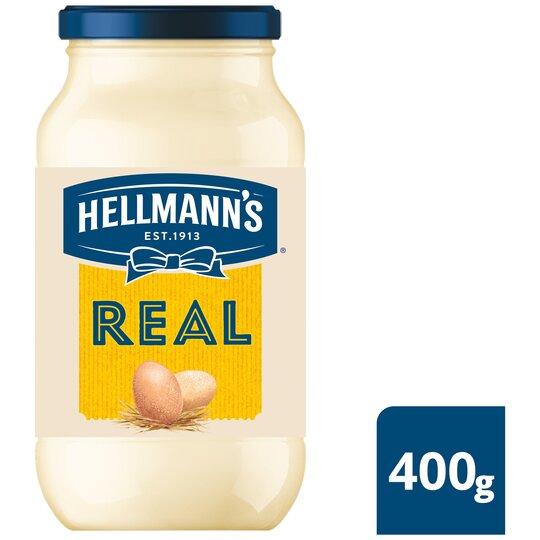 image 1 of Hellmann's Real Mayonnaise 400G Jar