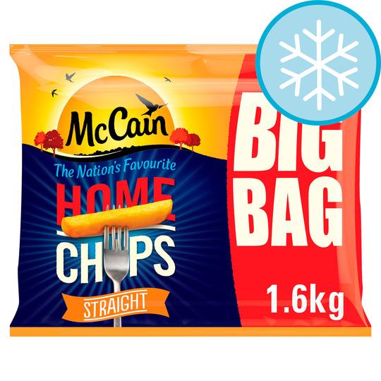 Mccain Home Chips Straight Cut 1.6Kg