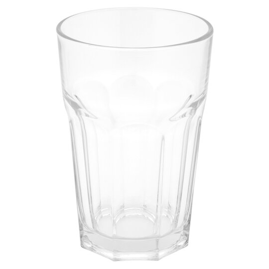 Tesco Soda Glass Tumbler Clear Tesco Groceries