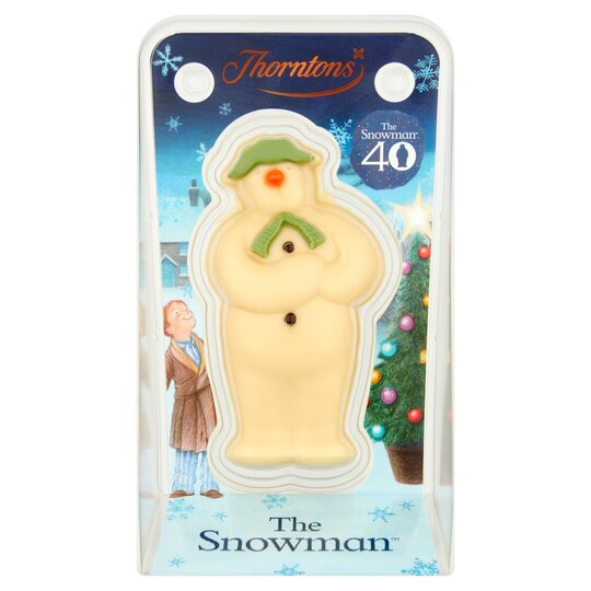 Thorntons Snowman Model White Chocolate 60g Tesco Groceries