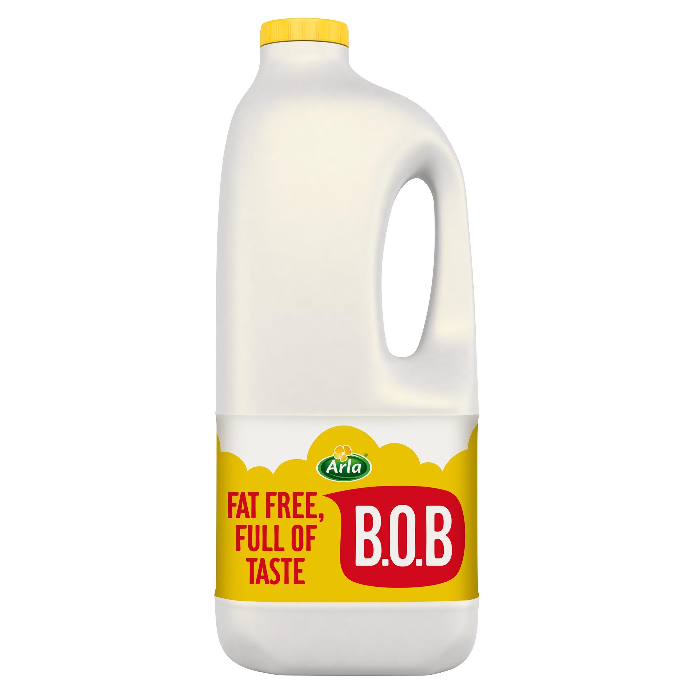 Arla Bob Skimmed Milk 2 Litre