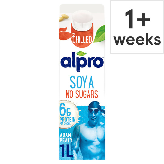 image 1 of Alpro Soya No Chilled Drink Drink 1 Litre