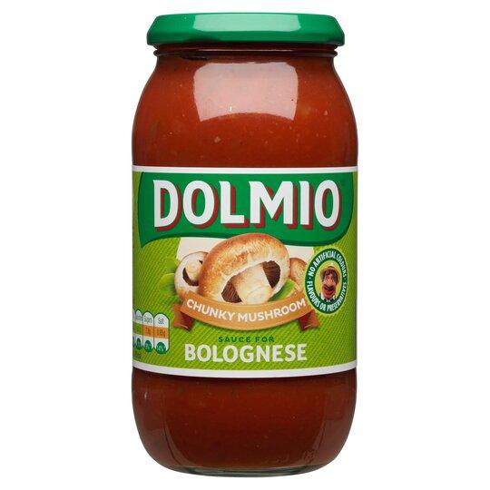 Dolmio Bolognese Chunky Mushroom Pasta Sauce 500G