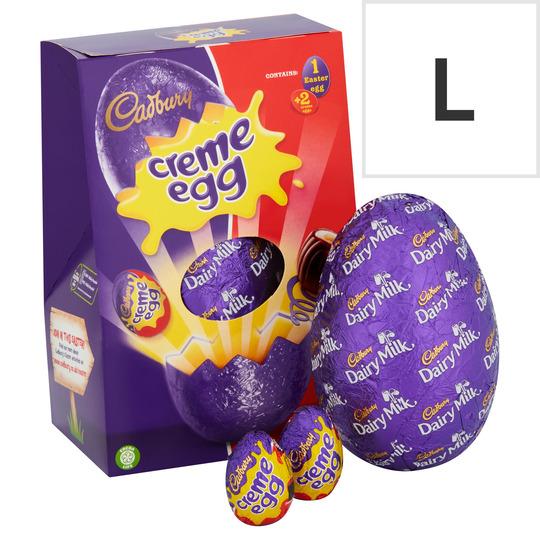 Cadbury Creme Egg Chocolate Egg 258G