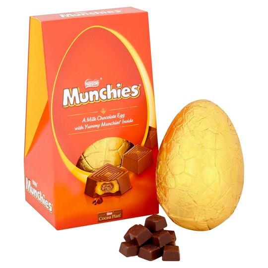 Munchies Large Easter Egg 252g Tesco Groceries