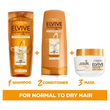 image 2 of L'oreal Elvive Extraordinary Coconut Oil Shampoo 500Ml