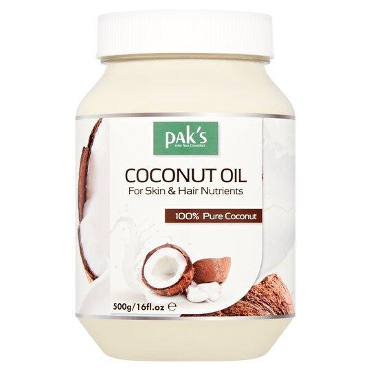 Pak's Coconut Oil Cream 500G