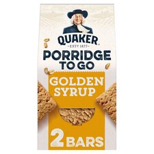 image 1 of Quaker Porridge To Go Golden Syrup 2X55g