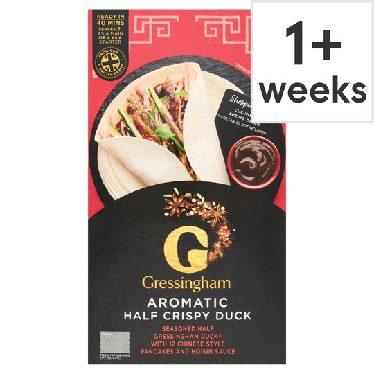 Gressingham Aromatic Half Duck 570g Tesco Groceries
