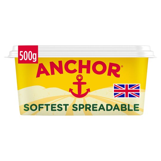 Anchor Softest Spreadable Butter 500G