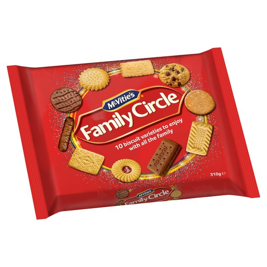 Mcvitie's Family Circle Biscuits 310G