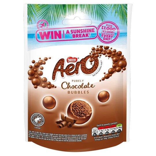 Aero Milk Chocolate Bubbles 92G