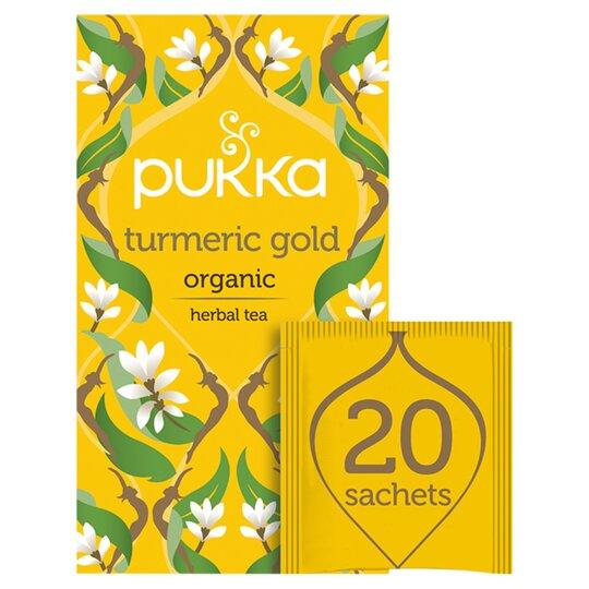 Pukka Organic Turmeric Gold Tea 20 Pack 36G
