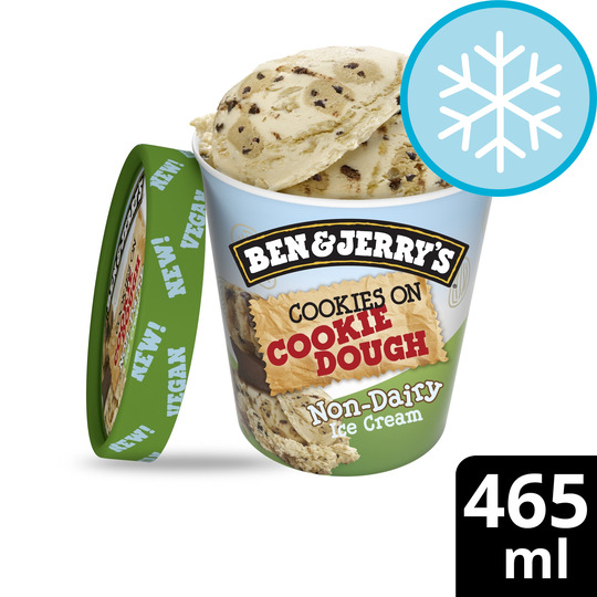 image 1 of Ben & Jerry's Non Dairy Cookies On Ckie/ Dgh Ice Cream 465Ml