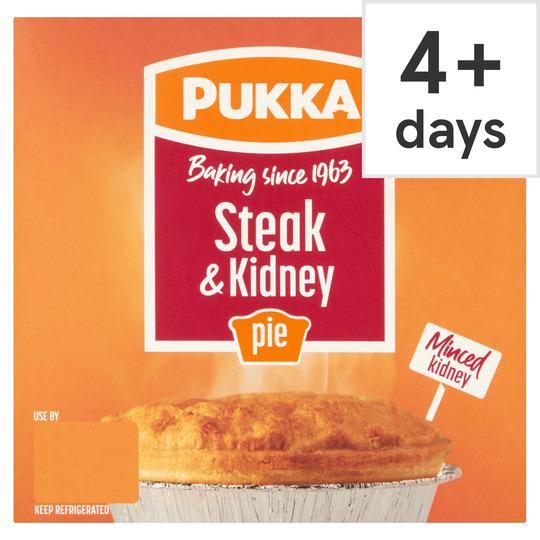 Pukka Steak And Kidney Pie