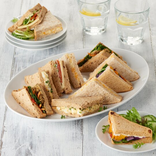 Tesco Easy Entertaining Mini Vegetarian Platter