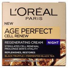 image 1 of L'oreal Paris Age Perfect Cell Renew Night Cream 50Ml