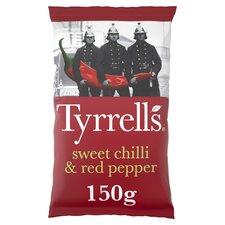 image 1 of Tyrrells Crisps Sweet Chilli & Red Pepper Crisps 150G