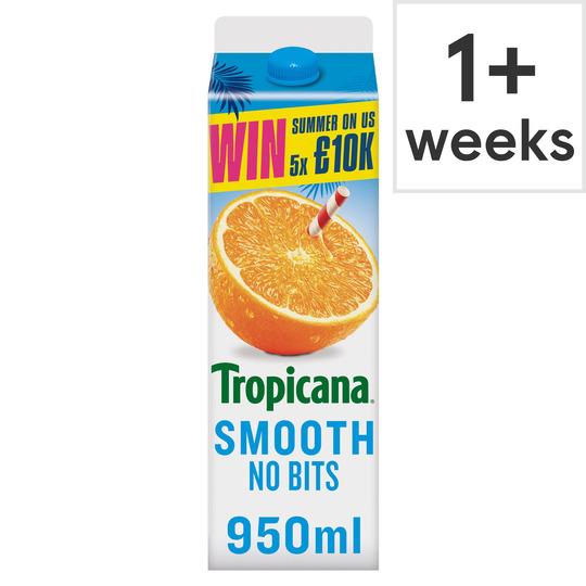 image 1 of Tropicana Orange Juice Smooth 950Ml