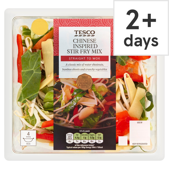 Tesco Chinese Inspired Stir Fry 320g Tesco Groceries