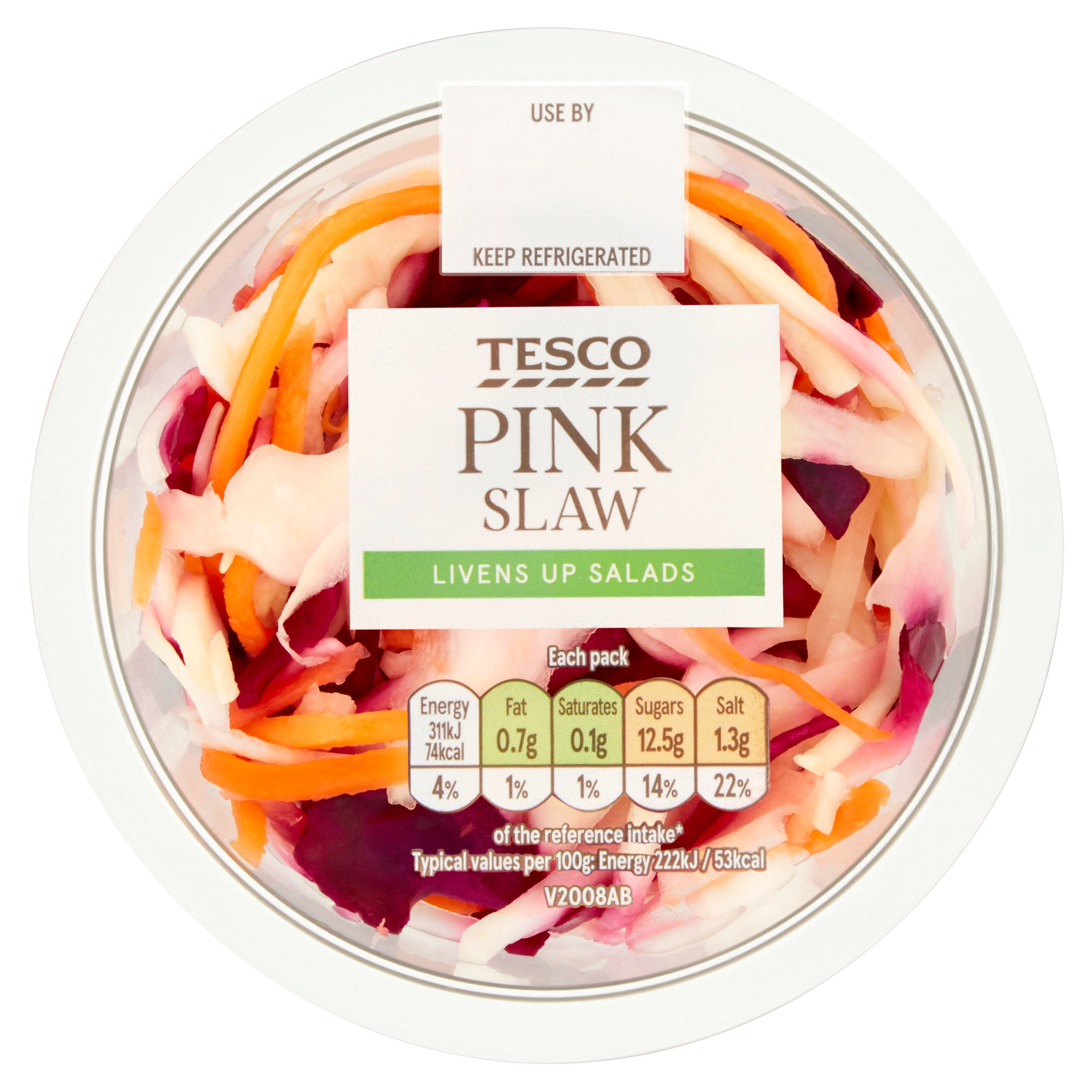 Tesco Pickled Pink Slaw 140G