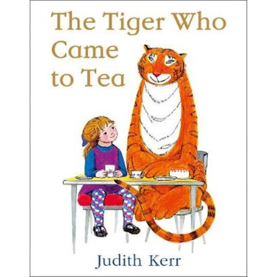 The Tiger Who Came To Tea Paddys Bathroom Judith Kerr