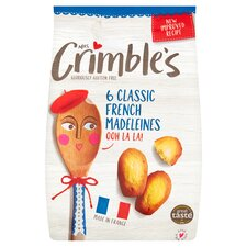 image 1 of Mrs Crimble's Classic Madeleine 180G
