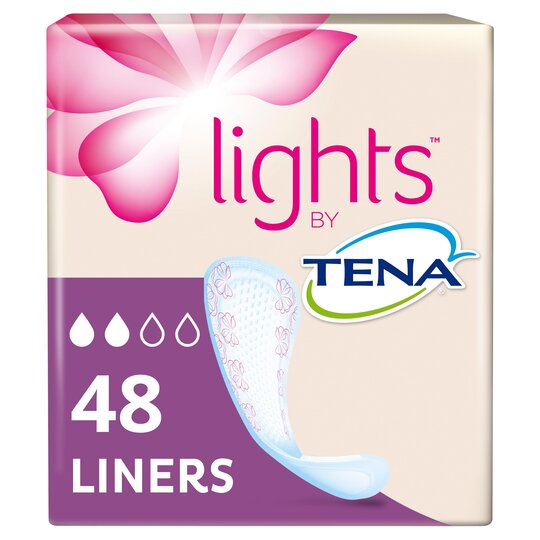 Lights By Tena Bladder Weakness Liners 48 Pack
