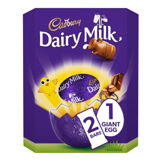 image 1 of Cadbury Dairy Milk Extra Large Easter Egg 515G