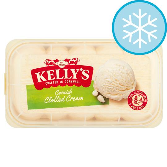 Kelly's Cornish Clotted Cream Ice Cream 950Ml